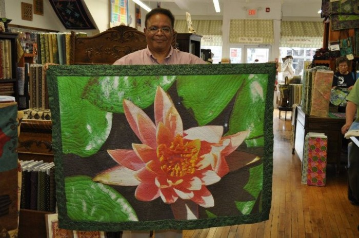 Web 2012 - Lew+Water Lily Quilt at Old City Quilts